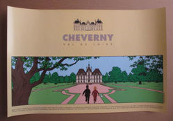 Afbeeldingen van Kuifje - Cheverny