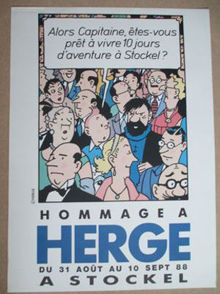 Afbeeldingen van HOMMAGE À HERGÉ