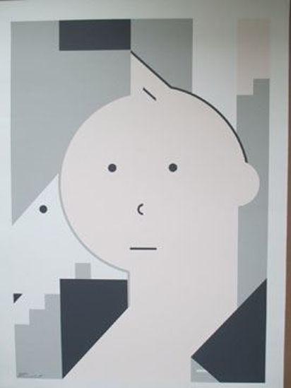 Afbeelding van Kuifje - Kuifje hommage hennebert