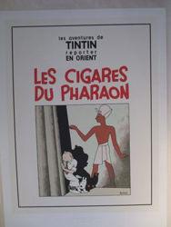 Afbeeldingen van Kuifje - Cover de sigaren van de farao