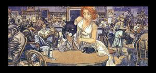 Afbeelding van Blacksad - Blacksad in bar i
