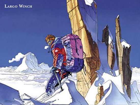 Afbeelding van Largo winch - Luxeposter largo winch (GEEN)