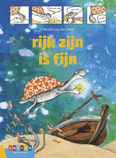 Afbeelding van Avi strip - Rijk zijn is fijn (ZWIJSEN, harde kaft)