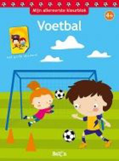 Afbeelding van Mijn allereerste kleurblok - Voetbal (BALLON, zachte kaft)