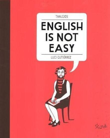 Afbeelding van English is not easy