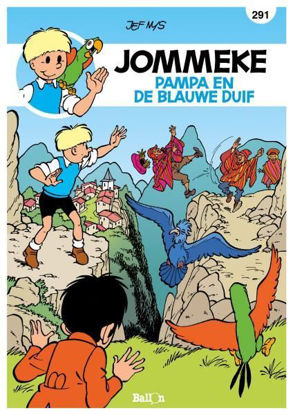 Afbeeldingen van Jommeke #291 - Pampa en de blauwe duif