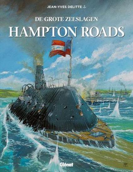 Afbeelding van Grote zeeslagen #5 - Hampton roads (GLENAT, harde kaft)