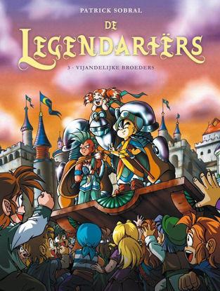 Afbeeldingen van De legendariers #3 - Vijandelijke broeders