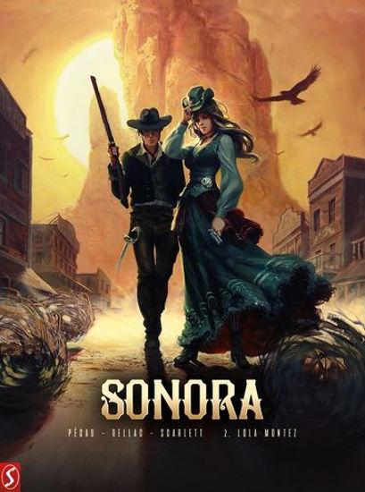 Afbeelding van Sonora #2 - Lola montez (SILVESTER, harde kaft)