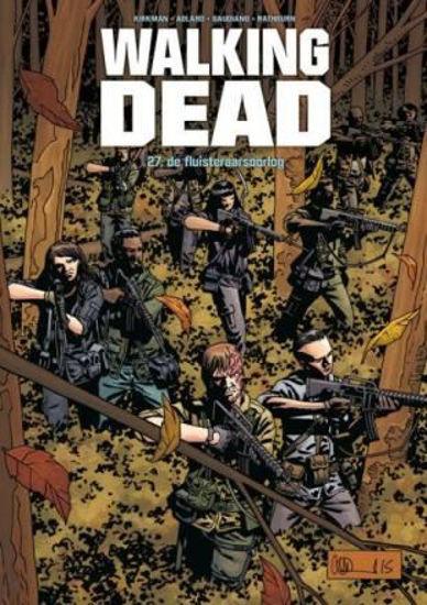 Afbeelding van Walking dead #27 - Fluisteraarsoorlog