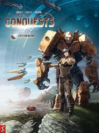 Afbeelding van Conquests #3 - Decornum (SILVESTER, zachte kaft)