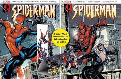 Afbeeldingen van Spider-man dood spoor premiumpakket 1+2+ totem + ex libris