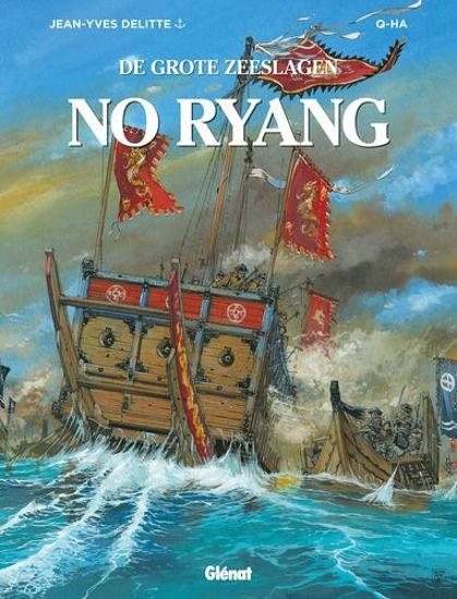 Afbeelding van Grote zeeslagen #12 - No ryang (GLENAT, harde kaft)
