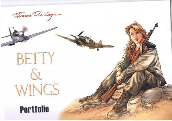 Afbeelding van Betty dodge - Betty & wings portfolio (BD MUST)