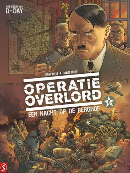 Afbeelding van Operatie overlord #6 - Nacht op de berghof (SILVESTER, harde kaft)