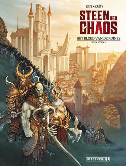 Afbeelding van Steen der chaos #1 - Bloed van de ruines (UITGEVERIJ L, zachte kaft)