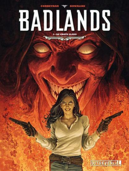 Afbeelding van Badlands #3 - Grote slang (UITGEVERIJ L, zachte kaft)