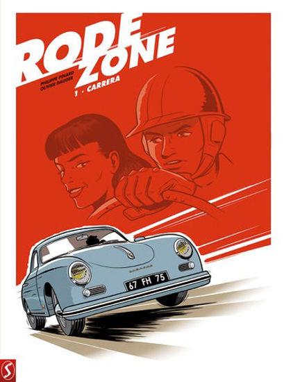 Afbeelding van Rode zone #1 - Carrera (SILVESTER, harde kaft)