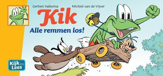 Afbeelding van Kik #4 - Alle remmen los (PLAN A, harde kaft)