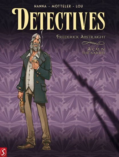 Afbeelding van Detectives #5 - Frederick abstraight (SILVESTER, harde kaft)