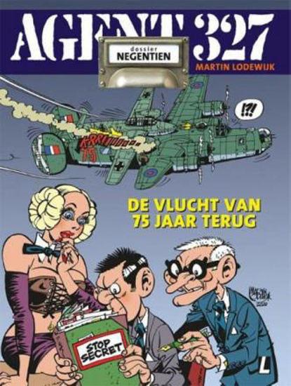 Afbeelding van Agent 327 #19 - Vlucht van vroeger wo2 editie (UITGEVERIJ L, zachte kaft)