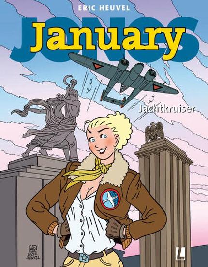 Afbeelding van January jones #11 - Jachtkruiser (UITGEVERIJ L, zachte kaft)