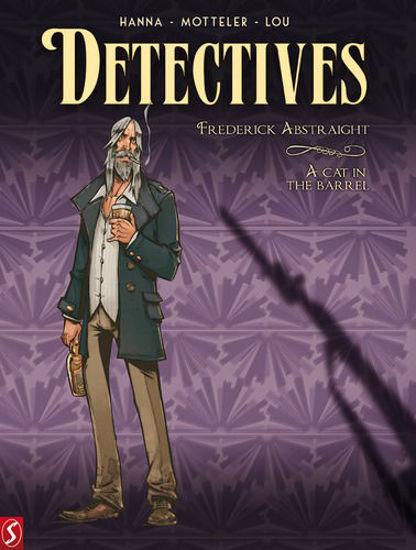 Afbeelding van Detectives #5 - Frederick abstraight (SILVESTER, zachte kaft)