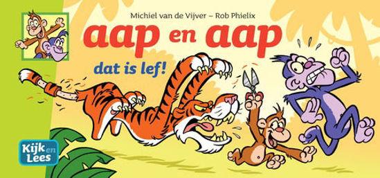 Afbeelding van Aap en aap #1 - Dat is lef (PLAN A, harde kaft)