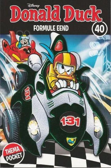 Afbeelding van Donald duck thema pocket #40 - Formule eend (SANOMA, zachte kaft)