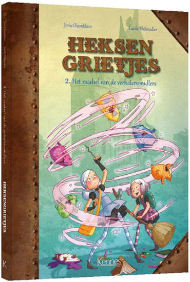 Afbeelding van Heksengrietjes #2 - Raadsel van de verhalensmullers (KENNES EDITIONS, harde kaft)
