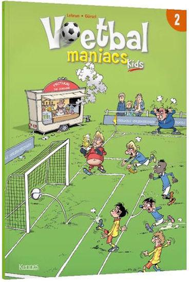 Afbeelding van Voetbal maniacs kids #2 - Voetbal maniac kids 2 (KENNES EDITIONS, zachte kaft)