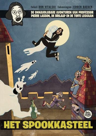 Afbeelding van Professor pierre lasson #1 - Spookkasteel (VITALSKI, zachte kaft)