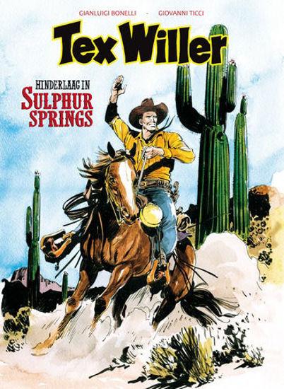 Afbeelding van Tex willer #9 - Hinderlaag in sulphur springs (HUM, zachte kaft)