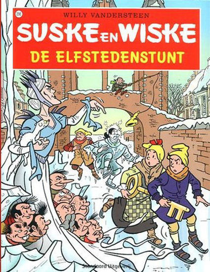 Afbeelding van Suske wiske chinees - Elfstedenstunt (chinese taal) (LIAONING, zachte kaft)