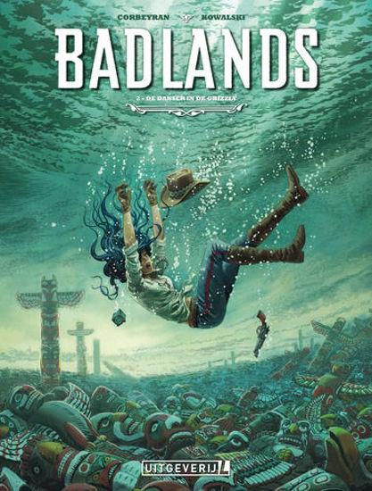 Afbeelding van Badlands #2 - Danser en de grizzly (UITGEVERIJ L, zachte kaft)