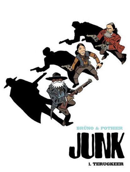 Afbeelding van Junk #1 - Terugkeer (HUM, harde kaft)
