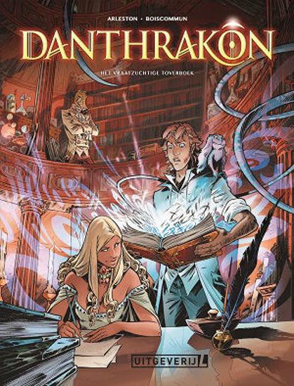 Afbeelding van Danthrakon #1 - Vraatzuchtige toverboek (UITGEVERIJ L, harde kaft)