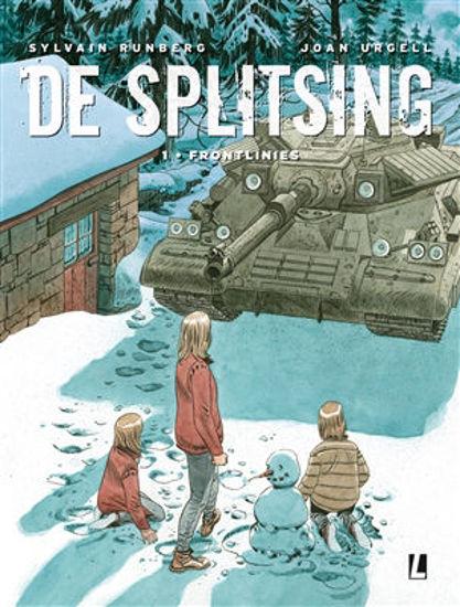 Afbeelding van Splitsing #1 - Frontlinies (UITGEVERIJ L, harde kaft)