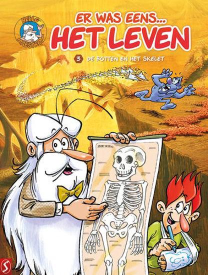 Afbeelding van Er was eens het leven #3 - Botten en het skelet (SILVESTER, zachte kaft)