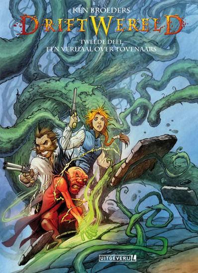 Afbeelding van Driftwereld #2 - Verhaal over tovenaars (LUITINGH, harde kaft)