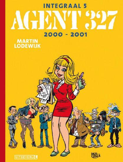 Afbeelding van Agent 327 #5 - Integraal 2000-2001 (LUITINGH, harde kaft)