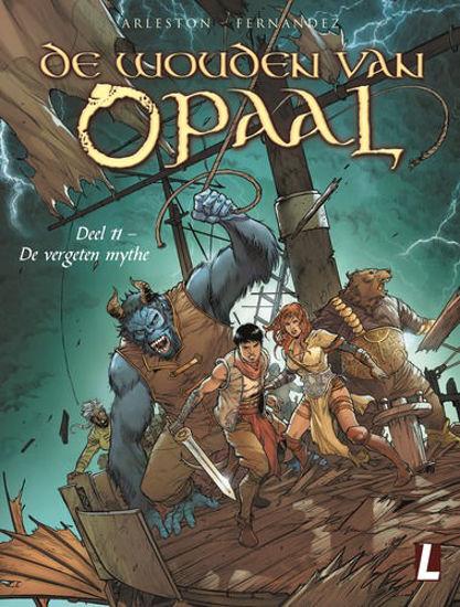 Afbeelding van Wouden van opaal #11 - Vergeten mythe (UITGEVERIJ L, harde kaft)