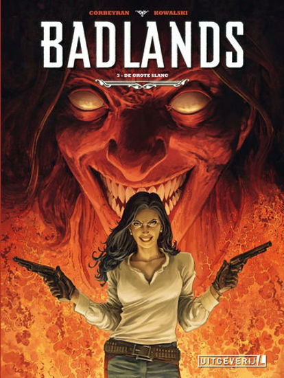 Afbeelding van Badlands #3 - Grote slang (UITGEVERIJ L, harde kaft)