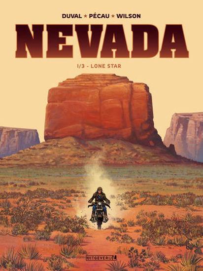 Afbeelding van Nevada #1 - Lone star 1/3 (UITGEVERIJ L, harde kaft)