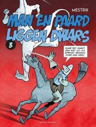 Afbeeldingen van Man en paard #3 - Liggen dwars