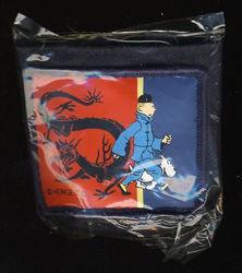 Afbeeldingen van Kuifje - Portefeuille blauwe lotus