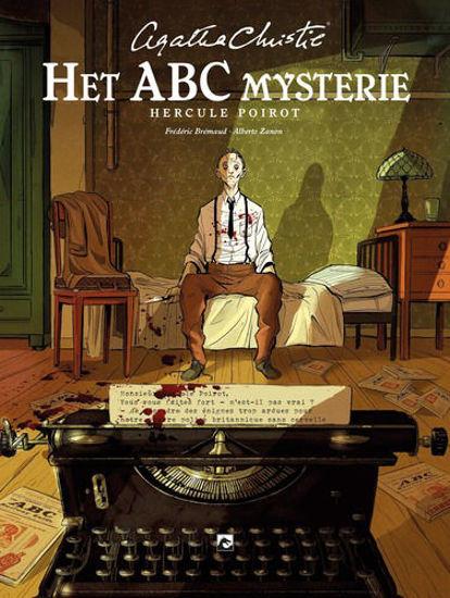 Afbeelding van Agatha christie #6 - Abc mysterie - hercule poirot (DARK DRAGON BOOKS, harde kaft)