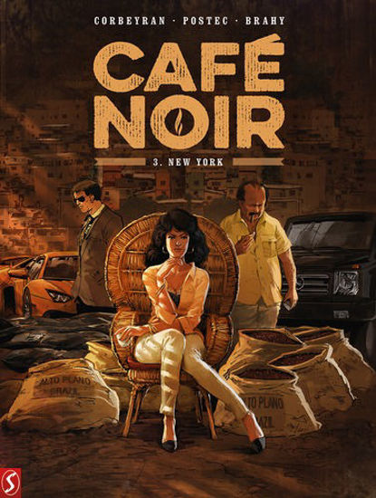 Afbeelding van Cafe noir #3 - New york (SILVESTER, harde kaft)