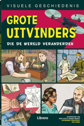 Afbeeldingen van Visuele geschiedenis #1 - Grote uitvinders (LIBRERO, zachte kaft)