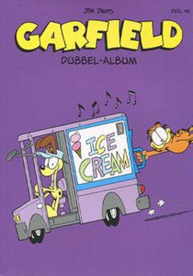 Afbeelding van Garfield dubbel-album #46 - Garfield dubbel album 46 (DE BOEMERANG, zachte kaft)